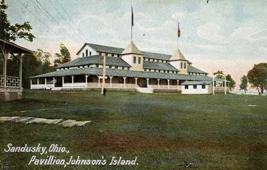 Main Pavilion circa 1904.